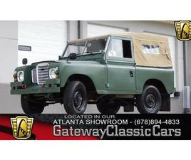 1973 LAND ROVER SERIES 3 TRUCK