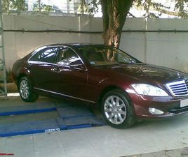 MERCEDES-BENZ S 350 S350CDI NA CHASTI 300 К.С. СЕДАН ДИЗЕЛ 2008 ГОД. 155000 КМ АВТОМАТИЧНА