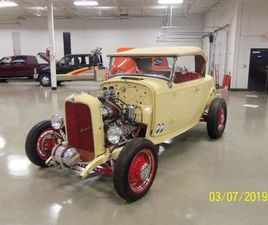 1932 FORD ROADSTER HOT ROD ALL STEEL BODY