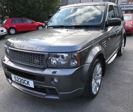 >MAR 2008 LAND ROVER RANGE ROVER SPORT 3.6 TDV8 GENUINE FACTORY HST 5DR AUTO