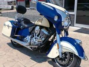 2015 INDIAN CHIEFTAIN® SPRINGFIELD BLUE/ IVORY CREAM