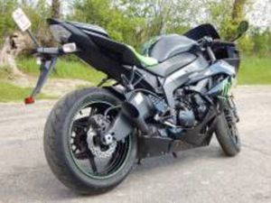 2009 KAWASAKI NINJA ZX 6R MONSTER ENERGY