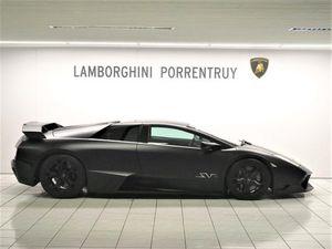 Lamborghini Murcielago Supercar Noire