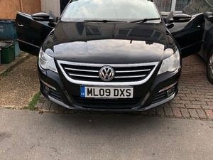 VW PASSAT CC 2009 BLACK SEMI AUTO LOADED, MOT TILL JULY 19, FULL SERVICE HISTORY, RECENTLY
