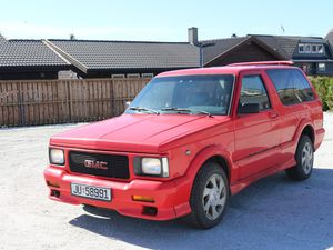GMC TYPHOON 1992, 156 000 KM, KR 99 000,-