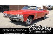1968 chevrolet impala convertible https://cloud.leparking.fr/2020/09/22/03/37/chevrolet-impala-cabriolet-1968-chevrolet-impala-convertible-red_7779137691.jpg