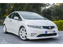 benzin - honda civic type r fn2 white championship - 2009