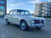 benzin - alfa romeo 1300 giulia ti - 1968