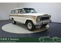 jeep wagoneer | 5,9 liter v8 | 4-türer | 1977 https://cloud.leparking.fr/2021/06/24/00/45/jeep-wagoneer-jeep-wagoneer-5-9-liter-v8-4-turer-1977-blanc_8175014369.jpg