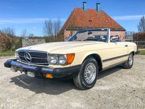benzin - mercedes-benz 380 sl r107 - 1983