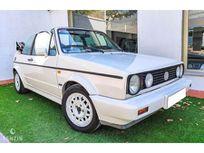 benzin - volkswagen golf gli cabriolet - 1992