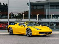 Ferrari 458 Italia Spider Yellow Used Search For Your Used Car On The Parking