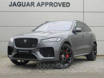 jaguar f-pace v8 5.0 supercharged 550ch svr awd bva8