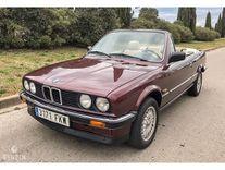 benzin - bmw 320i e30 cabriolet - 1987