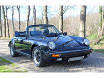 benzin - porsche 911 3.2 g50 cabriolet - 1986