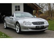 benzin - mercedes-benz sl 500 r230 40k km - 2004 *flash