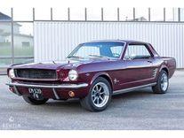 benzin - ford mustang coupé 289ci - 1966