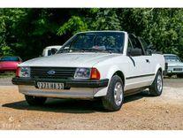 benzin - ford escort cabriolet projet - 1985 *sans réserve acy
