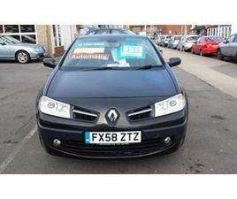 RENAULT MEGANE CC 2.0 DYNAMIQUE AUTOMATIC FROM £2
