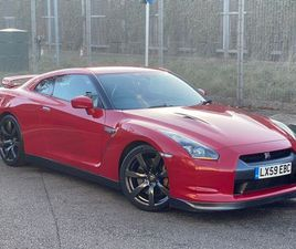 NISSAN GT-R 3.8 V6 BLACK EDITION COUPE 2DR PETROL AUTOMATIC (298 G/KM, 478 BHP)SAT NAV - S