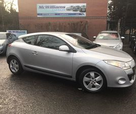 RENAULT MEGANE 1.6 DYNAMIQUE COUPE 3DR PETROL MANUAL (163 G/KM, 110 BHP)3 DOOR COUPE