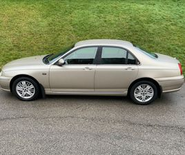 ROVER 75 2.0 CDT CLUB 4DRSIMPLY BEAUTIFUL THROUGHOUT
