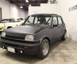 1983 RENAULT R5 LE CAR