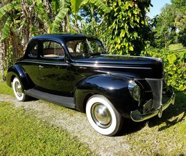 1940 FORD 01A DELUXE BUSINESS COUPE