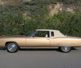 1973 CADILLAC ELDORADO CALIFORNIA BLUE PLATE CAR SOLD