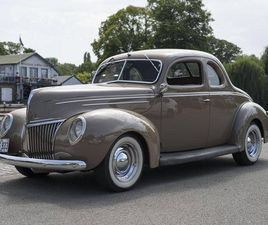1939 FORD DELUXE RESTOMOD