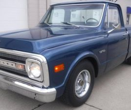 1970 CHEVROLET C10 SHORT BOX, 8 CYL INJECTED AUTO