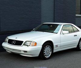 1998 MERCEDES-BENZ SL500 6K ORIGINAL MILES + $11K IN RECENT SERVICE!