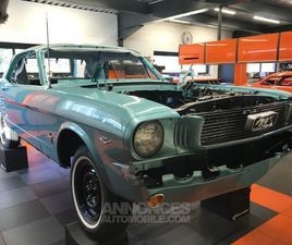 FORD MUSTANG RESTAUREE COUPE 66 V8 BVA RESTAUREE