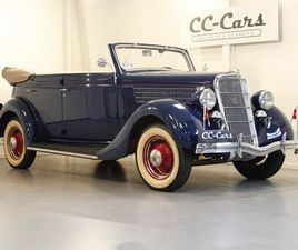 FORD V8 3,6 DELUXE CONVERTIBLE - 399.900 KR.