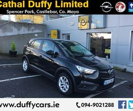 2018 OPEL CROSSLAND X 1.2L PETROL FROM CATHAL DUFFY LIMITED - CARSIRELAND.IE