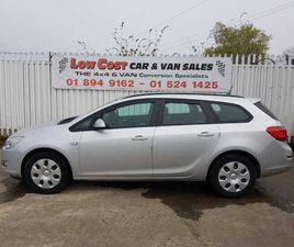 2011 OPEL ASTRA 1.7L DIESEL FROM LOW COST CAR AND VAN SALES - CARSIRELAND.IE