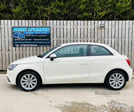 USED 2012 AUDI A1 SPORT TDI HATCHBACK 60,000 MILES IN WHITE FOR SALE | CARSITE
