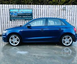 USED 2013 AUDI A1 S LINE TDI HATCHBACK 75,251 MILES IN BLUE FOR SALE | CARSITE