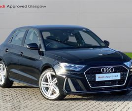 USED 2020 AUDI A1 35 TFSI S LINE 5DR S TRONIC HATCHBACK 8,677 MILES IN BLACK FOR SALE | CA