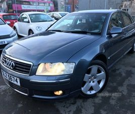 USED 2004 AUDI A8 CVT SALOON 116,000 MILES IN BLUE FOR SALE | CARSITE