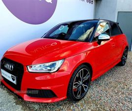 USED 2015 AUDI S1 2.0 QUATTRO SPORTBACK 5D 228 BHP HATCHBACK 27,000 MILES IN RED FOR SALE