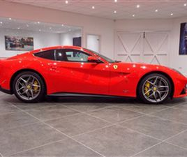 USED 2013 FERRARI F12 - COUPE 20,950 MILES IN RED FOR SALE | CARSITE