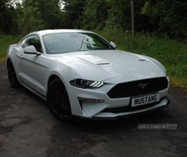 USED 2019 FORD MUSTANG ECOBOOST 2261 PETROL MANUAL 6 GEARS COUPE COUPE 9,870 MILES IN WHIT