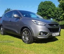 USED 2015 HYUNDAI IX35 SE CRDI NOT SPECIFIED 63,726 MILES IN GREY FOR SALE | CARSITE