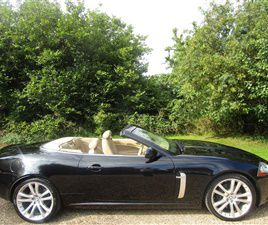 USED 2008 JAGUAR XKR 4.2 SUPERCHARGED V8 2DR AUTO CONVERTIBLE 26,000 MILES IN MIDNIGHT BLA