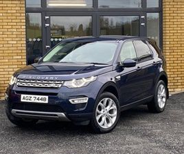 USED 2016 LAND ROVER DISCOVERY SPORT HSE TD4 ESTATE 32,000 MILES IN BLUE FOR SALE | CARSIT