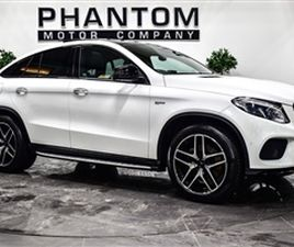 USED 2018 MERCEDES-BENZ GLE 3.0 AMG GLE 43 4MATIC NIGHT EDITION 4D 385 BHP COUPE 10,436 MI