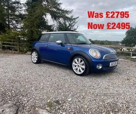 USED 2007 MINI HATCH HATCHBACK 75,000 MILES IN BLUE FOR SALE | CARSITE