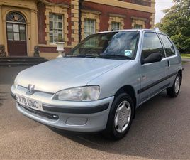 USED 2001 PEUGEOT 106 INDEPENDENCE HATCHBACK 24,000 MILES IN SILVER FOR SALE | CARSITE