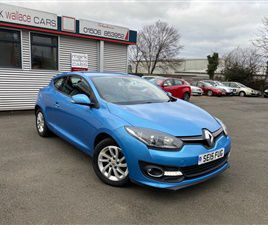 USED 2015 RENAULT MEGANE 1.5 DYNAMIQUE TOMTOM ENERGY DCI S/S 3D 110 BHP COUPE 37,164 MILES